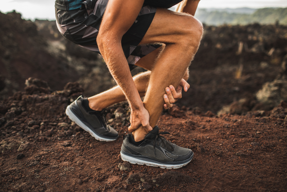 Rupture aigue tendon Achille